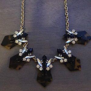 J. Crew Jewelry - Jcrew tortoise shell costume jewelry necklace